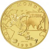 Vème République, 100 Francs Or, Coupe du monde 1998, Asie