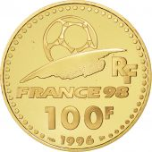 Vème République, 100 Francs Or, Coupe du monde 1998, France