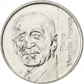 Vème République, 5 Francs Pierre Mendès France, 1992, KM 1006