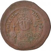 Justinien Ier, Follis, An 12, Constantinople, 5ème officine, Sear 163
