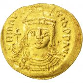 Maurice Tibère, Solidus, Constantinople, Sear 482