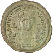 Justinien Ier, Follis, An 15, Constantinople, 1ère officine, Sear 163