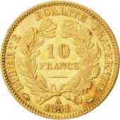 II�me R�publique, 10 Francs or C�r�s, 1851 A, Paris, Gadoury 1012