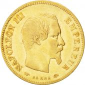 Second Empire, 10 Francs or Napol�on III t�te nue, 1855 A, Paris, Gadoury 1014