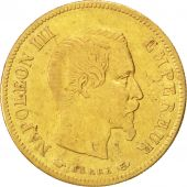 Second Empire, 10 Francs or Napol�on III t�te nue, 1856 A, Paris, Gadoury 1014