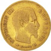 Second Empire, 10 Francs or Napol�on III t�te nue, 1857 A, Paris, Gadoury 1014