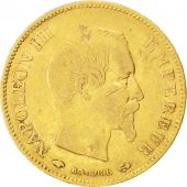 Second Empire, 10 Francs or Napol�on III t�te nue, 1859 A, Paris, Gadoury 1014