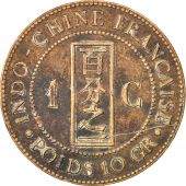 Indochine, 1 Cent, 1885 A, Lecompte 37