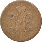 Russie, Nicolas I, 2 Kopek, 1841 SPM, Saint-P�tersbourg, KM 144.4