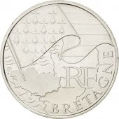 V�me R�publique, 10 Euro des R�gions, Bretagne, 2010, KM 1648