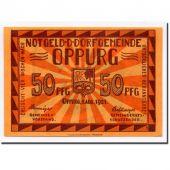 Allemagne, Oppurg, 50 Pfennig, paysage 1, 1921, 1921-08-01, SPL, Mehl:1023.1