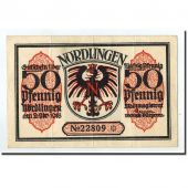 Germany, Nordlingen, 50 Pfennig, Monument, 1918, 1918-10-02, AU(50-53)