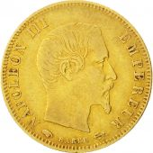 Second Empire, 10 Francs or Napol�on III grand module, 1856 A, Paris, Gadoury 1014