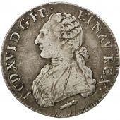 Louis XVI, �cu aux Branches d'Olivier, 1782 Q, Perpignan, Gadoury 356