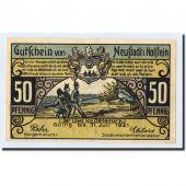 Banknote, Germany, Neustadt i. Holstein Stadt, 50 Pfennig, paysage, O.D