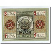 Billet, Allemagne, Ilmenau Stadt, 50 Pfennig, tour, 1921, 1921-01-01, SPL