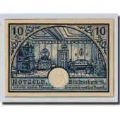Banknote, Germany, Stützerbach, 10 Pfennig, Maison, 1921, UNC(63), Mehl:1287.3