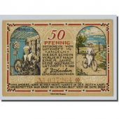Billet, Allemagne, Lutzhoft, 50 Pfennig, paysage, 1920, 1920-07-01, SPL