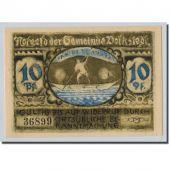 Banknote, Germany, Volkstedt, 10 Pfennig, Ecusson, 1921, 1921-09-01, UNC(63)