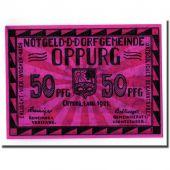 Banknote, Germany, Oppurg, 50 Pfennig, paysage, 1921, 1921-08-01, UNC(63)
