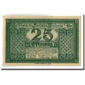 Banknote, Germany, Neuhaus a.d Elbe, 25 Pfennig, paysage, 1921, 1921-04-01