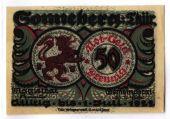 Billet, Allemagne, Sonneberg, 50 Pfennig, personnage 2, 1921, 1921-07-01, SPL