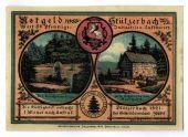 Billet, Allemagne, Stuzerbach, 50 Pfennig, personnage 3, 1921, SPL, Mehl:1287.1