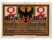Banknote, Germany, Goslar Stadt, 2 Mark, personnage 2, 1922, 1922-07-02