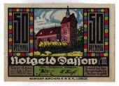 Billet, Allemagne, Dassow, 50 Pfennig, Ecusson, O.D, SPL, Mehl:260.1