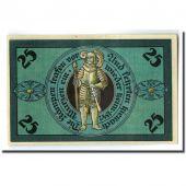 Banknote, Germany, Torgau, 25 Pfennig, personnage, 1921, 1921-02-10, UNC(63)