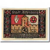 Billet, Allemagne, Altenburg Stadt, 50 Pfennig, personnage 2, 1921, SPL