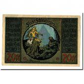 Banknote, Germany, Schleusingen Stadt, 20 Pfennig, personnage, O.D, UNC(63)