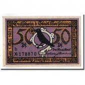 Banknote, Germany, Merseburg Stadt, 50 Pfennig, paysage 2, 1921, 1921-05-01