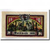 Banknote, Germany, Waldbröl, 10 Pfennig, personnage, 1921, UNC(63), Mehl:1370.1