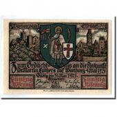 Banknote, Germany, Eisenach Stadt, 50 Pfennig, personnage 1, 1921, UNC(63)