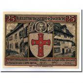 Billet, Allemagne, Eisenach Stadt, 25 Pfennig, chevalier, 1922, 1922-04-01, SPL