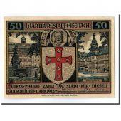 Banknote, Germany, Eisenach Stadt, 50 Pfennig, personnage, 1922, 1922-04-01