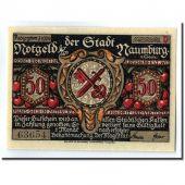 Banknote, Germany, Naumburg a.S. Stadt, 50 Pfennig, personnage 2, 1920, UNC(63)