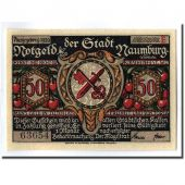 Banknote, Germany, Naumburg a.S. Stadt, 50 Pfennig, Personnage 11, 1920