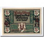 Banknote, Germany, Rothenburg o.T. Stadt, 50 Pfennig, portrait 3, 1921