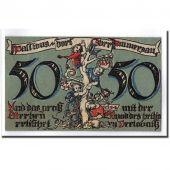 Banknote, Germany, Oberammergau, 50 Pfennig, paysage, 1921, 1921-07-01, UNC(63)