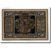 Banknote, Germany, Greiffenberg, 25 Pfennig, personnage, 1920, 1920-04-19