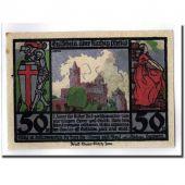 Banknote, Germany, Rudelsburg, 50 Pfennig, paysage, O.D, UNC(63), Mehl:1143.1