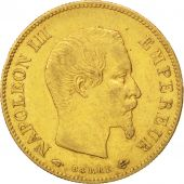 Second Empire, 10 Francs or Napol�on III t�te nue, 1860 A, Paris, Gadoury 1014