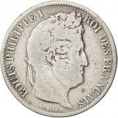 Louis-Philippe I, 5 Francs t�te laur�e, 1831 B, Rouen, Gadoury 677a