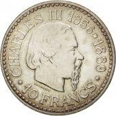 Monaco, Rainier III, 10 Francs, 1966, Gadoury 155