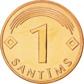 Lettonie, République, 1 Santims, 2003, KM 15