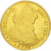 Colombie, Charles III, 4 Escudos, 1778 P-SF, Popayan, KM 44