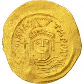 Maurice Tibère, Solidus, Constantinople, Sear 478
