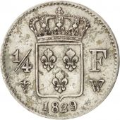 Charles X, 1/4 Franc, 1829 W, Lille, Gadoury 353